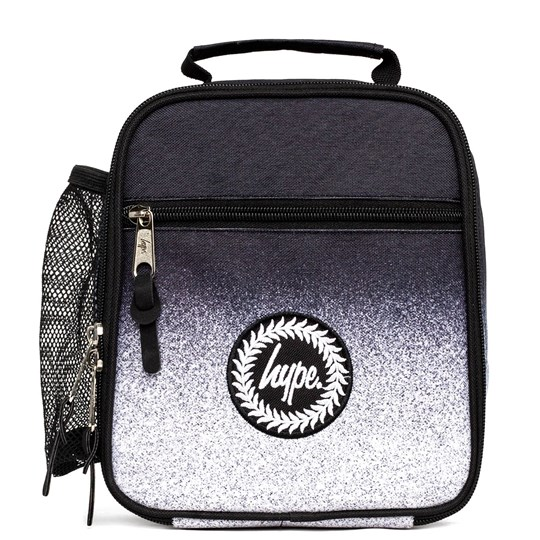Hype Spackle Fade Lunch Bag Black/White SPECKLE FADE GREY