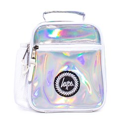Hype Holographic Lunch Bag Silver