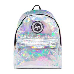 Hype Holographic Backpack Silver