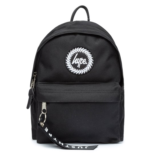 Hype Logo Mini Backpack Black Black