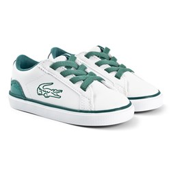 Lacoste Lerond Infants Sneakers White/Green