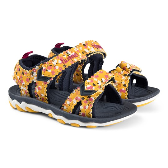 Hummel Sport Flowers Sandals Golden Rod GOLDEN ROD