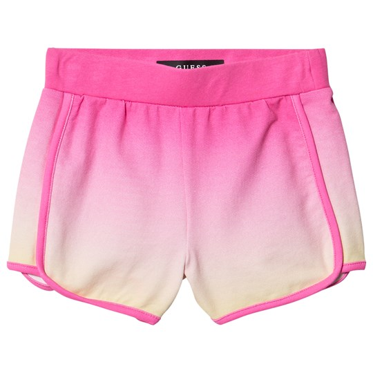 Guess Glitter Guess Sweat Shorts Pink Ombre P7K7