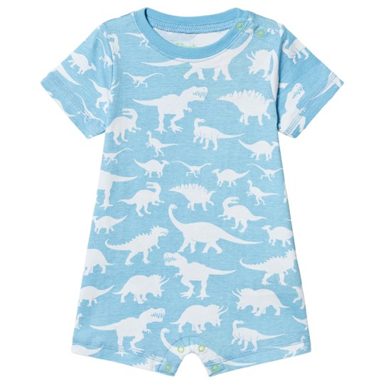Hatley Dino Silhouettes Baby Romper Blue Blue