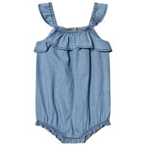 Image of Emile et Ida Romper Chambray 18 Months (1562376)