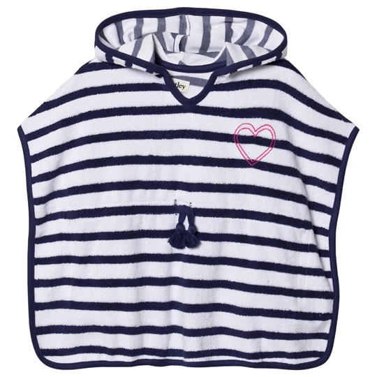 Hatley Nautical Stripes Terry Cover-Up Navy/White Blue