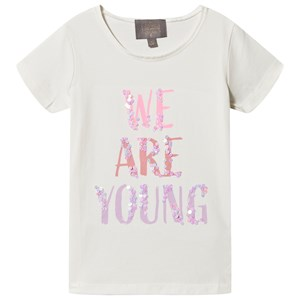 Image of Creamie We Are Young T-shirt Cloud 116 cm (5-6 år) (1507521)