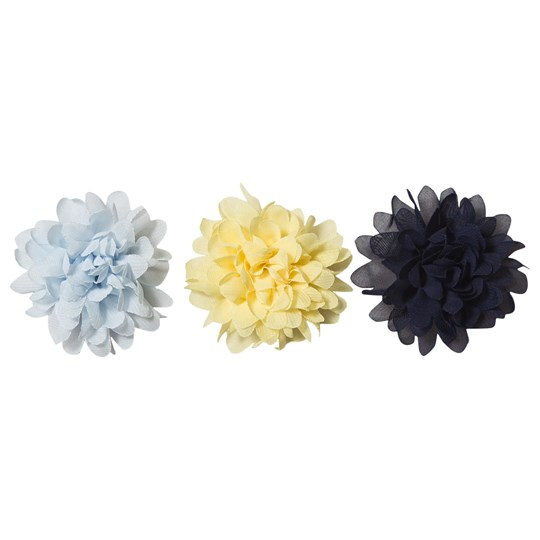 Creamie 3-Pack Flower Pin/Hair Clips Popcorn Popcorn