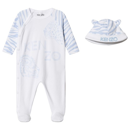 Kenzo 3-Piece Gift Set White/Pale Blue 01