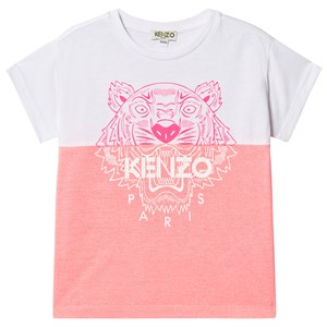 Image of Kenzo Color Block Tiger T-shirt Lyserød 14 years (1549032)