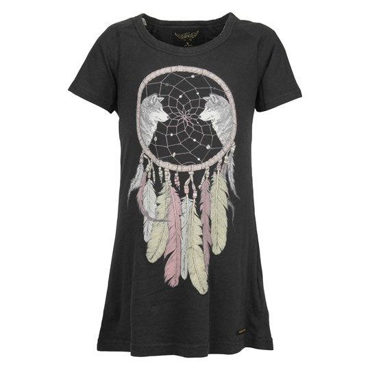 Finger In The Nose Keren Tee Shirt Dress Black Black