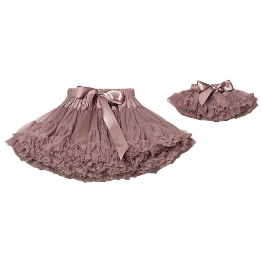 DOLLY by Le Petit Tom Thumbelina Pettiskirt Kjol Mauve MAUVE