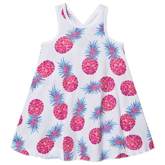 Hatley Party Pineapples Trapeze Klänning Blå White