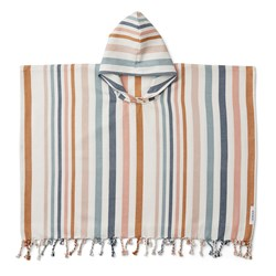 Liewood Stripe Roomie Poncho Multicolor