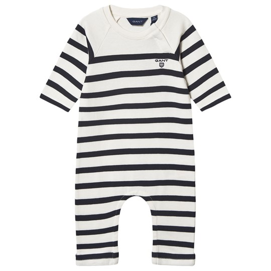 GANT Marinblå White and Stripe Knitted One-Piece 113