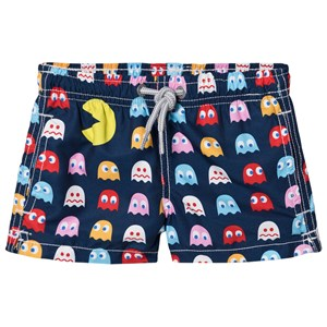 Image of MC2 Saint Barth Pacman Badeshorts Navy 2 years (1578428)