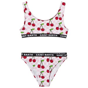 Image of MC2 Saint Barth Cherry Check Bikini Pink 10 years (1578505)