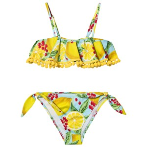 Image of MC2 Saint Barth Lemon Pom Pom Bikini Gul 6 years (1578527)