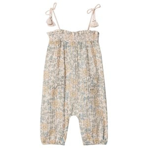 Image of Louis Louise Overalls Cassis Indian Flower Lurex Lys Pink 18 Months (1570720)