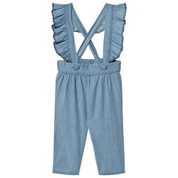 Louis Louise Flore Chambray Overalls Blå