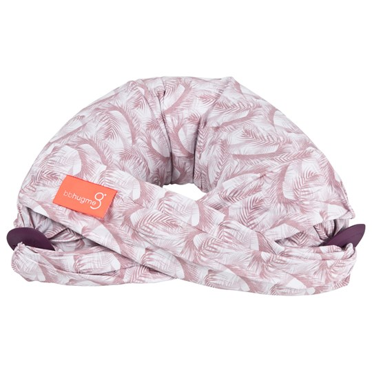 bbhugme Gravid- och Amningskudde Feather Pink Feather Pink