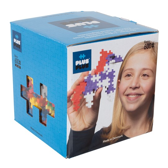 Plus-Plus 600-Piece Plus-Plus® Basic Mix Blue