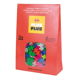 Image of Plus-Plus 300-Piece Plus-Plus® Neon Mix 5 - 12 years (1586459)