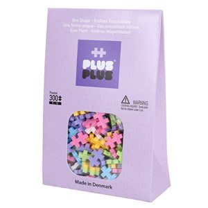 Image of Plus-Plus 300-Piece Plus-Plus® Pastel Mix 5 - 12 years (1586461)