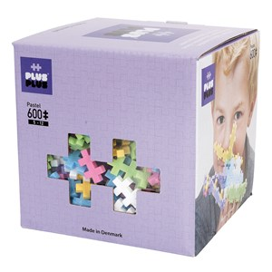 Image of Plus-Plus 600-Piece Plus-Plus® Pastel Mix 5 - 12 years (1586462)