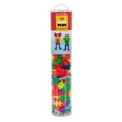 Plus-Plus 240-Piece Plus-Plus® Neon Mix Tube
