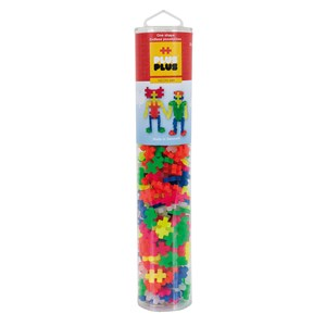 Image of Plus-Plus 240-Piece Plus-Plus® Neon Mix Tube 5 - 12 years (1586464)