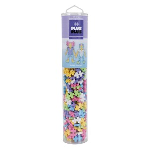 Image of Plus-Plus 240-Piece Plus-Plus® Pastel Mix Tube 5 - 12 years (1586465)