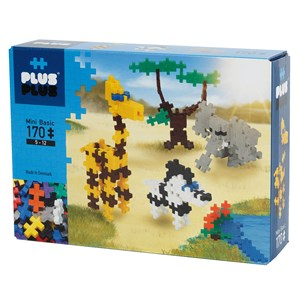 Image of Plus-Plus 170-Piece Plus-Plus® Basic Savannah 5 - 12 years (1586467)