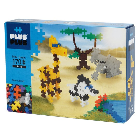 Plus-Plus 170-Piece Plus-Plus® Basic Savannah Blue