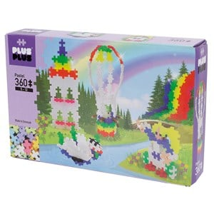 Image of Plus-Plus 360-Piece Plus-Plus® Pastel Hot Hair Balloon 5 - 12 years (1586471)