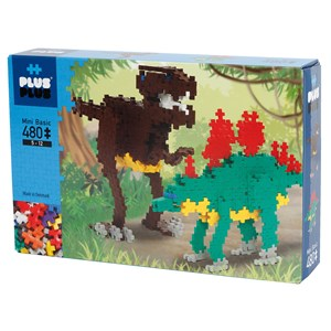 Image of Plus-Plus 480-Piece Plus-Plus® Basic Dinosaurer 5 - 12 years (1586472)