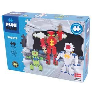 Image of Plus-Plus 170-Piece Plus-Plus® Basic Robotter 5 - 12 years (1586469)