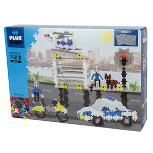 Image of Plus-Plus 760-Piece Plus-Plus® Police 5 - 12 years (1586473)