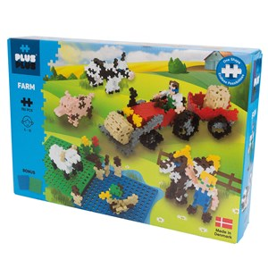 Image of Plus-Plus 760-Piece Plus-Plus® Basic Farm 5 - 12 years (1586474)