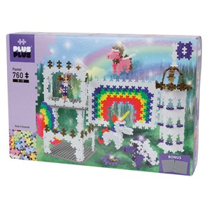 Image of Plus-Plus 760-Piece Plus-Plus® Pastel Regnbue Slot 5 - 12 years (1586476)