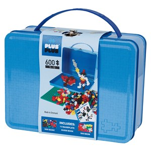 Image of Plus-Plus 600-Piece Plus-Plus® Basic Metal Kuffert 5 - 12 years (1586484)
