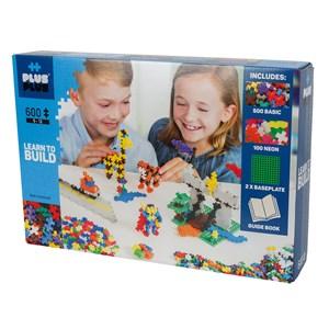 Image of Plus-Plus 600-Piece Plus-Plus® Basic Learn To Build 5 - 12 years (1586480)