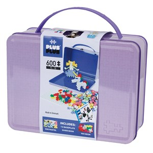 Image of Plus-Plus 600-Piece Plus-Plus® Pastel Metal Kuffert 5 - 12 years (1586485)