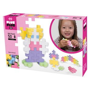 Image of Plus-Plus 50-Piece Plus-Plus® BIG Pastel Mix 12 mdr. - 6 år (1586487)