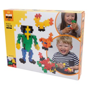 Image of Plus-Plus 150-Piece Plus-Plus® BIG Basic Mix 12 months - 6 years (1586488)