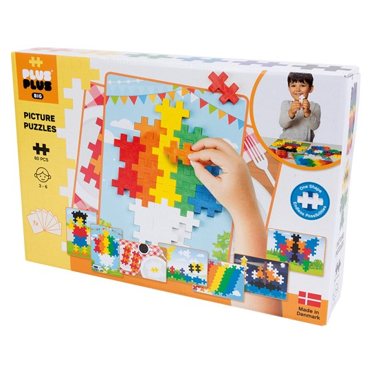 Plus-Plus 60-Piece Plus-Plus® BIG Basic Picture Puzzle Yellow
