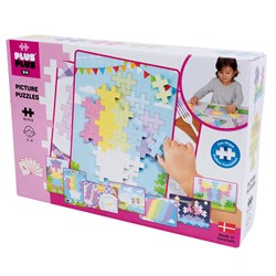 Plus-Plus 60-Piece Plus-Plus® BIG Pastel Picture Puzzle