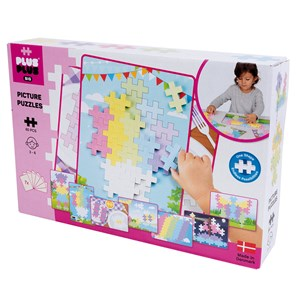 Image of Plus-Plus 60-Piece Plus-Plus® BIG Pastel Picture Puzzle 12 months - 6 years (1586491)