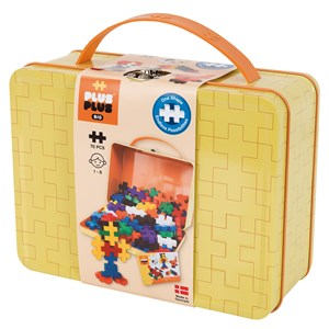 Image of Plus-Plus 70-Piece Plus-Plus® BIG Basic Metal Kuffert 12 months - 6 years (1586494)
