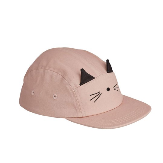 Liewood Rory Cap Cat/Rose Cat Rose